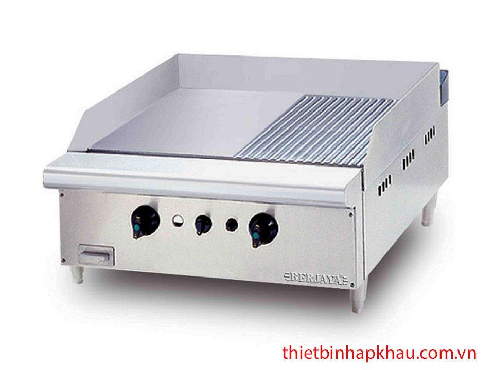 Bếp chiên nửa phẳng nửa nhám dùng gas GG2BHR TB