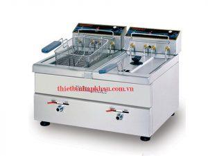 Bếp chiên nhúng đôi dùng điện Berjaya SDF12D TB