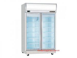 Tủ đông Berjaya 2 cánh kính TB