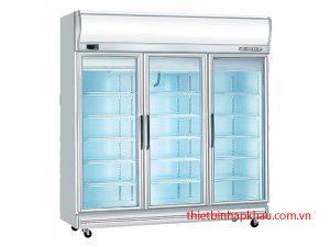 tủ đông Berjaya 3 cánh kính TB