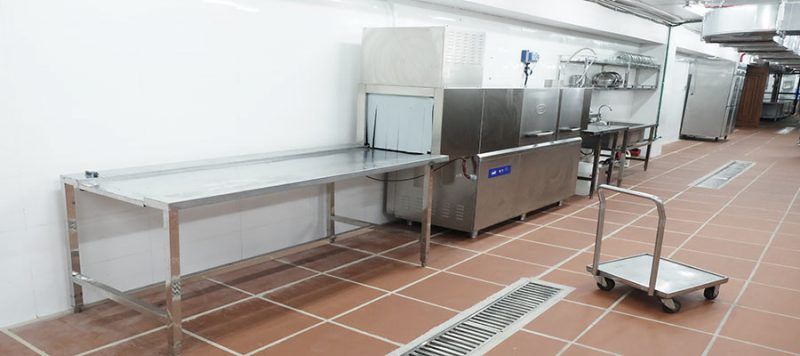 Phụ kiện cho máy rửa bát nhà hàng